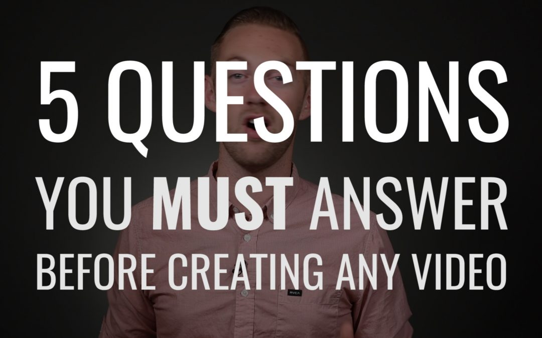 Video 5 Questions To Ask When Creating A For Your Brand Ensure